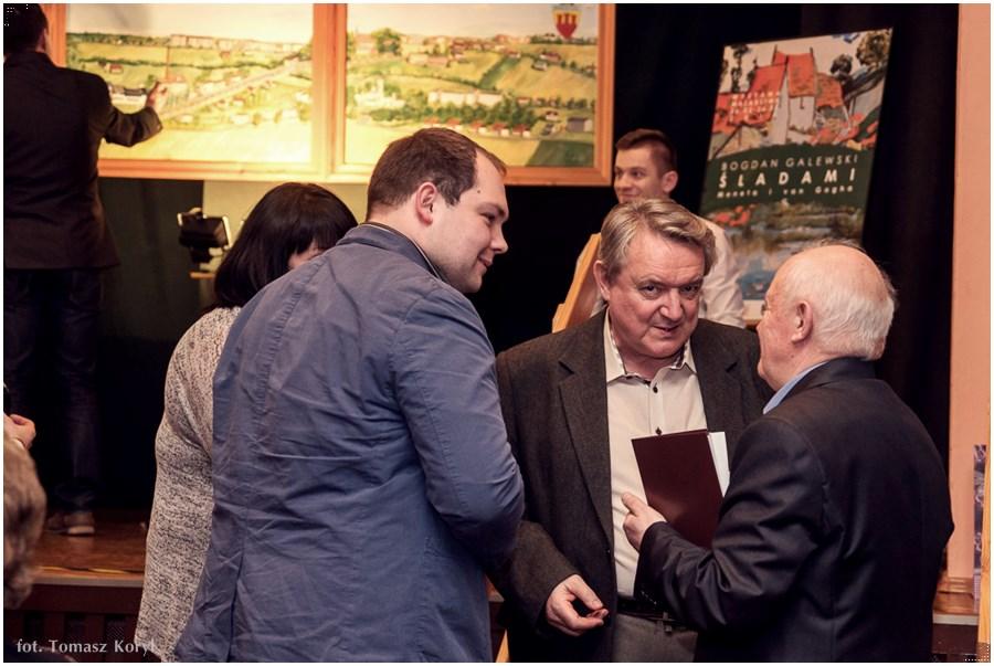 Sladami Moneta i van Gogha wernisaz Bogdana Galewskiego