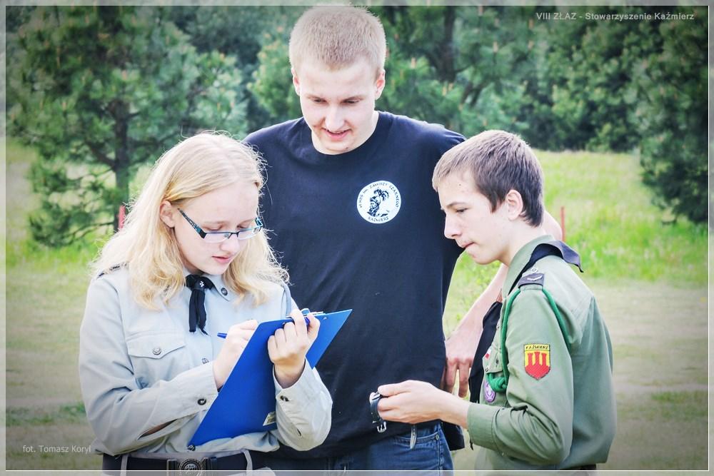 ZŁAZ KIJKARZY organizowany przez Stowarzyszenie Kaźmierz