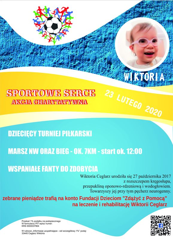Akcja charytatywna SPORTOWE SERCE 2020 Kaźmierz