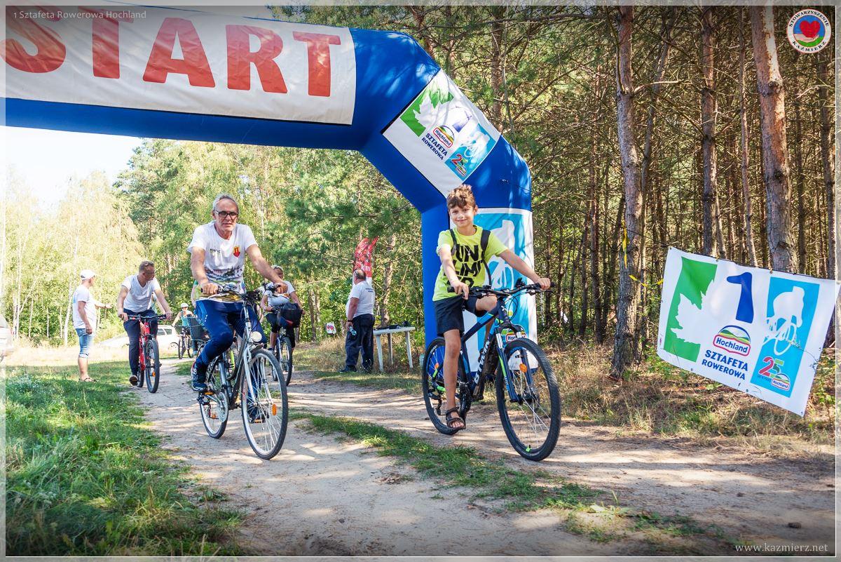 1 Sztafeta Rowerowa – 25 lat Hochland w Polsce  - Dni Chleba i Sera 2019 Kaźmierz