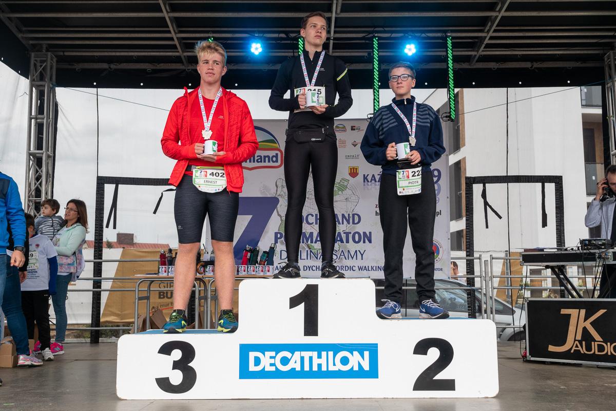 7 Hochland Półmaraton Doliną Samy I Pyrlandzka Dycha, Kaźmierz 2019-09-29. fot. Aleksandra Koryl / www.relacje-fotograficzne.com