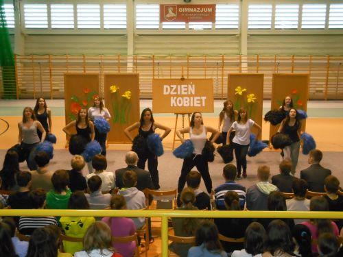 cheerleaderki gimnazjum kazmierz